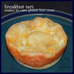 gluten free breakfast tart or quiche