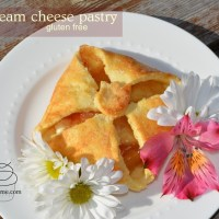 gluten free cream cheese pastries