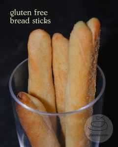 gluten free bread sticks