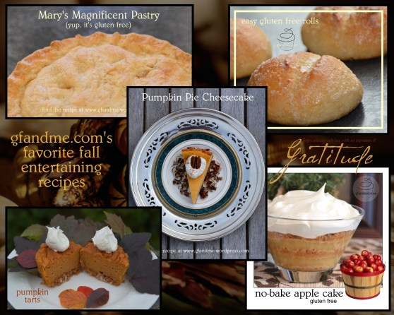gluten free thanksgiving recipes. gfandme.com