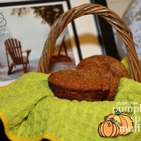 gluten free muffins: spiced pumpkin