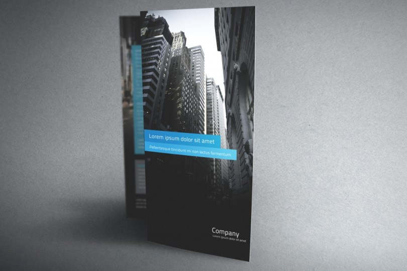 Cool brochure template psd