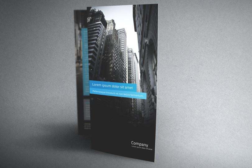 Cool brochure template psd