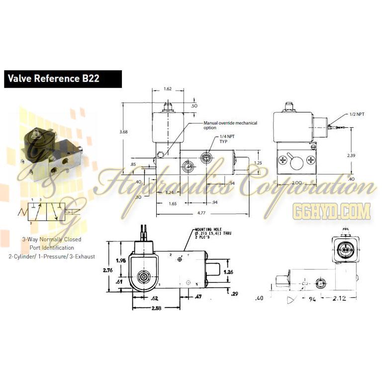 Parker Solenoid Wiring Diagram Online Wiring Diagram