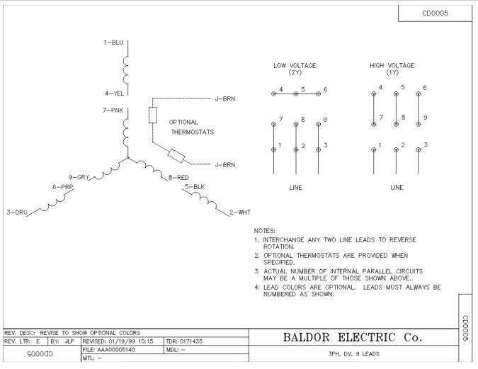 Baldor Motor Wiring Diagram  27 Wiring Diagram Images - Wiring