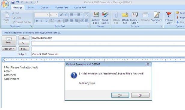 Microsoft Outlook 2007 Essentials - gHacks Tech News