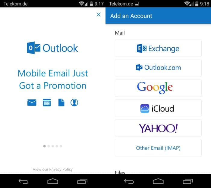 Microsoft Outlook Preview for Android and iOS is now available