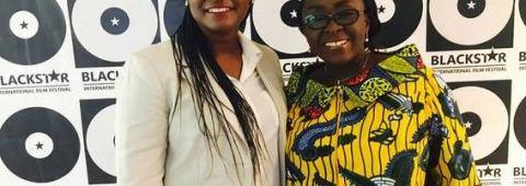 Black Star Intertional film Festival - Juliet Asante and Dzifa Gomashie
