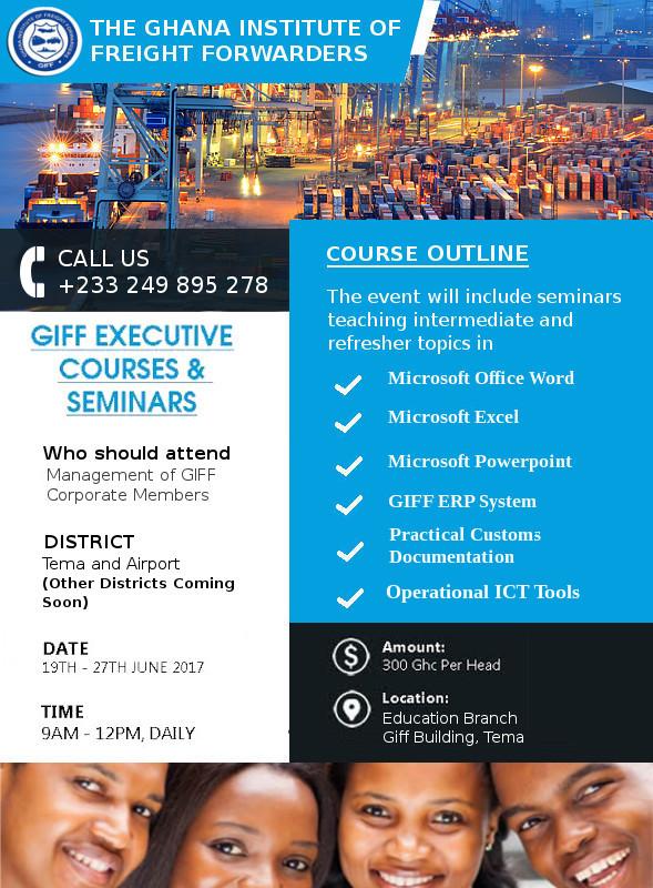 GIFF Executive Courses  Seminar GIFF