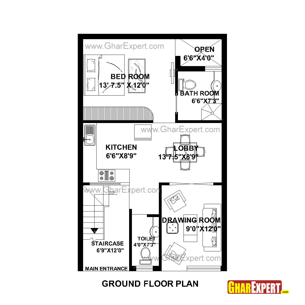 Great Sq Ft To Gaj 80 100sqyards 25 U0027 X 36 100 Home Design