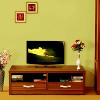 tv unit design simple design - GharExpert