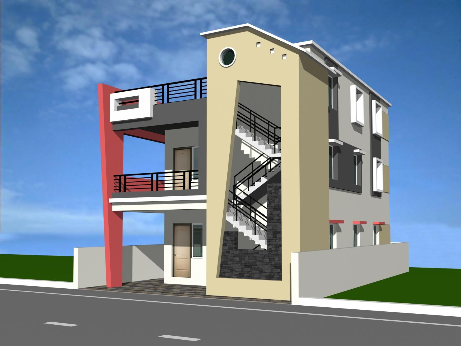 Image Gallery modern duplex house plans free images