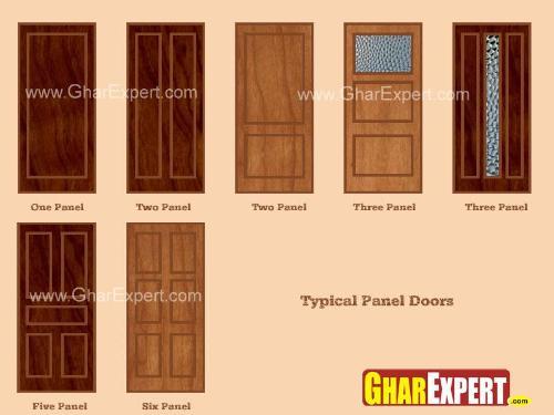 Panel Door, Advantages and Disadvantages of Panel Doors