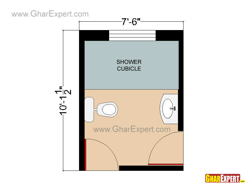 Bathroom Plans, Bathroom Layouts for 60 to 100 square feet