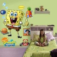 Kids Room Wall Decor Spongebob - Interior Design Ideas