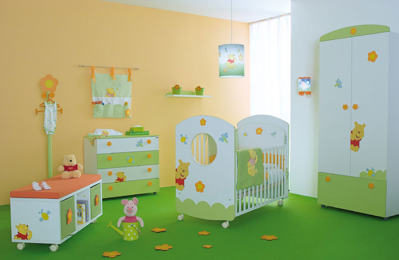 Winnie The Pooh Baby Nursery Rooms Inspirations Bedroom