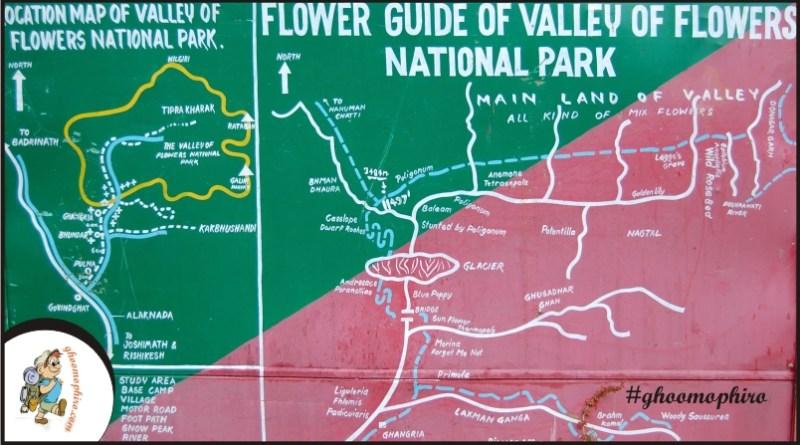 Valley of flowers, Bhyundra village, Ghangaria, Uttarakhand.