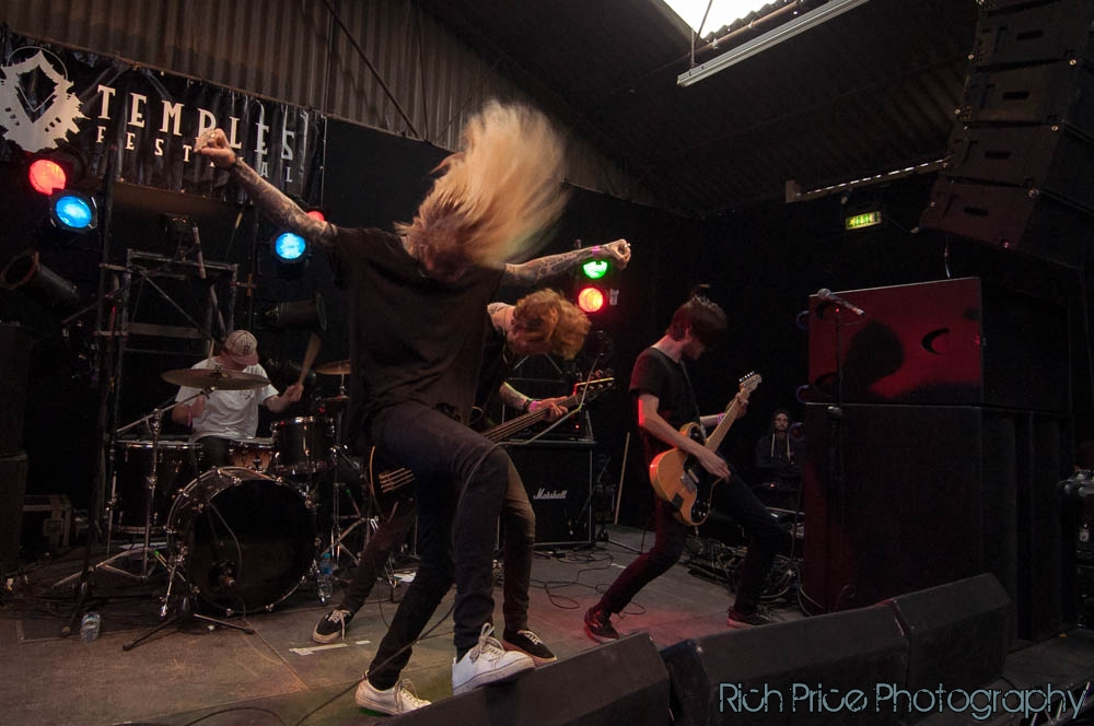 Grieved at Temples Festival Bristol 2015