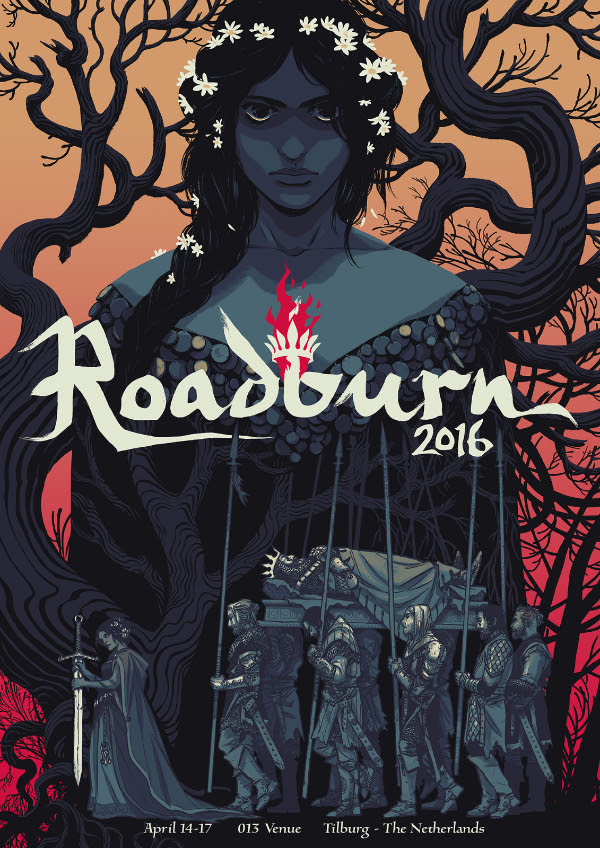 Roadburn 2016 official poster