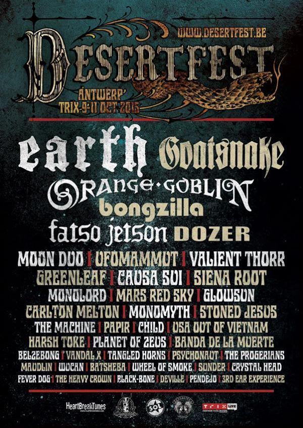 Desertfest Belgium!