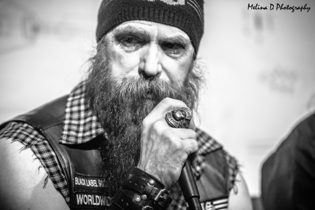 Zakk Wylde of Black Label Society at The NAMM Show, by Melina D Photography