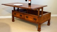 Walnut Coffee Table (Lift Up Storage) | GHShaw Ltd