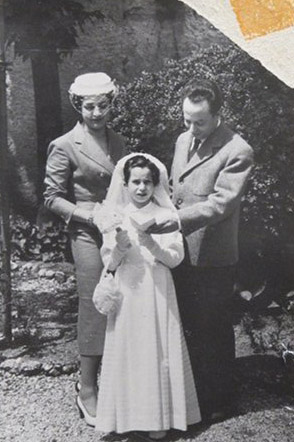 27 maggio 1954 – prima comunione di Anna Silvia