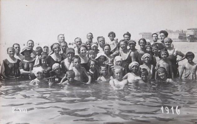 Grado 1923 - Marucci, Nino e parenti
