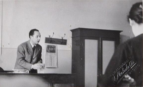 Nino – Primavera 1954 classe seconda a – Liceo classico Stellini