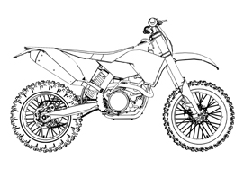 honda 500 dirt bike