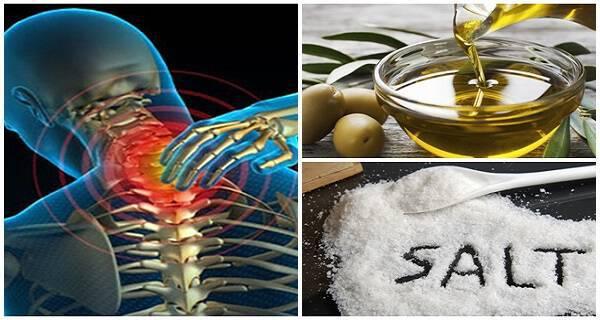 Ανακατέψτε λίγο αλάτι και ελαιόλαδο και δεν θα αισθανθείτε πόνο για τα επόμενα 5 χρόνια!!!