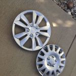 Hubcaps Upcycled Into Gorgeous Outdoor Art