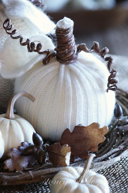 DIY Pumpkin Decor – Without Using Pumpkins!