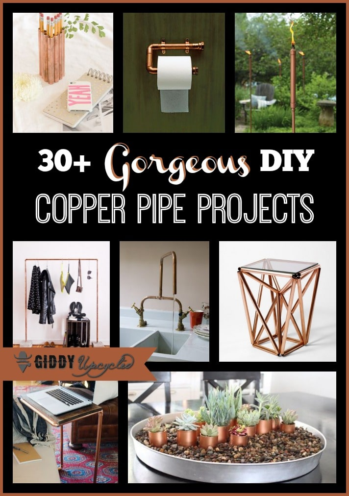 DIY Upcycled Copper Pipe Projects 30 Inspiring Ideas
