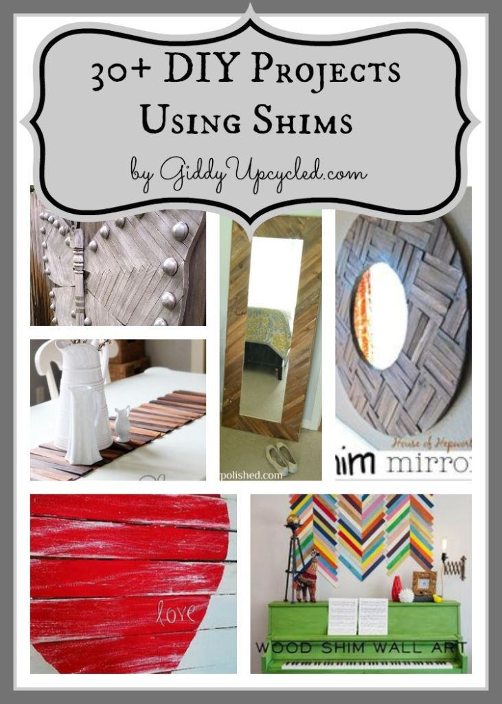 30 DIY Projects Using Shims!