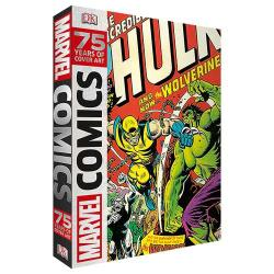 'Marvel Comics: 75 Years of Cover Art' by Alan Cowsill. It marks the diamond anniversary of the comics giant.