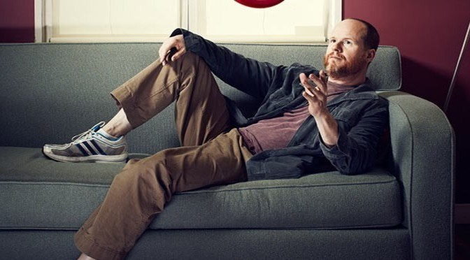 Joss Whedon on a couch