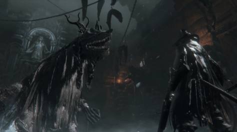 An early concept image for Bloodborne.