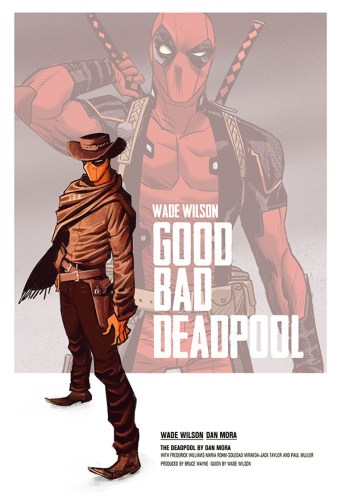 Deadpool Cowboy by Dan Mora