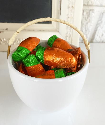 chocolate carrots