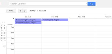Link to our GigRower events calendar