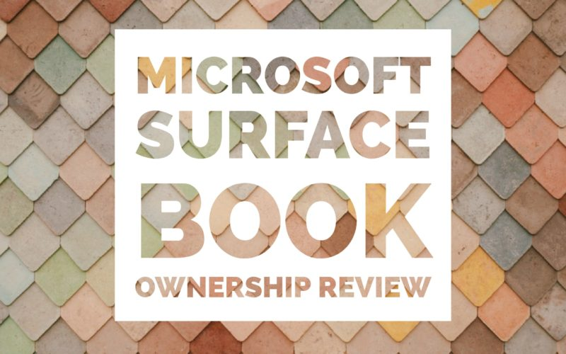 Microsoft SurfaceBook and the Microsoft Surface Support Team