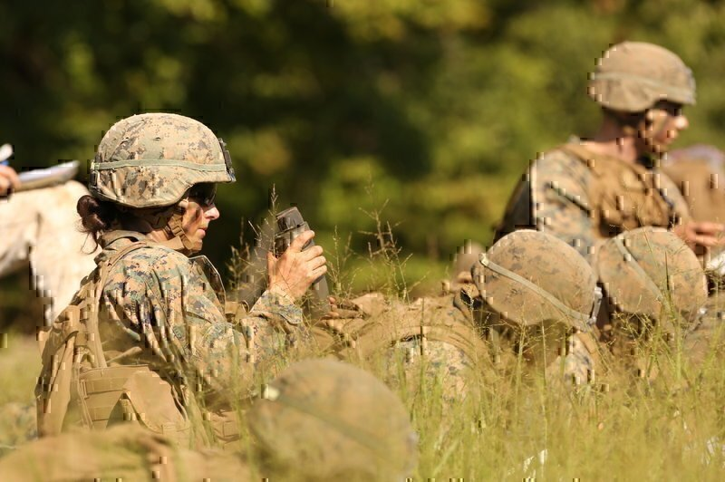 Some Marines Say First Female Infantry Officer May Face Resistance