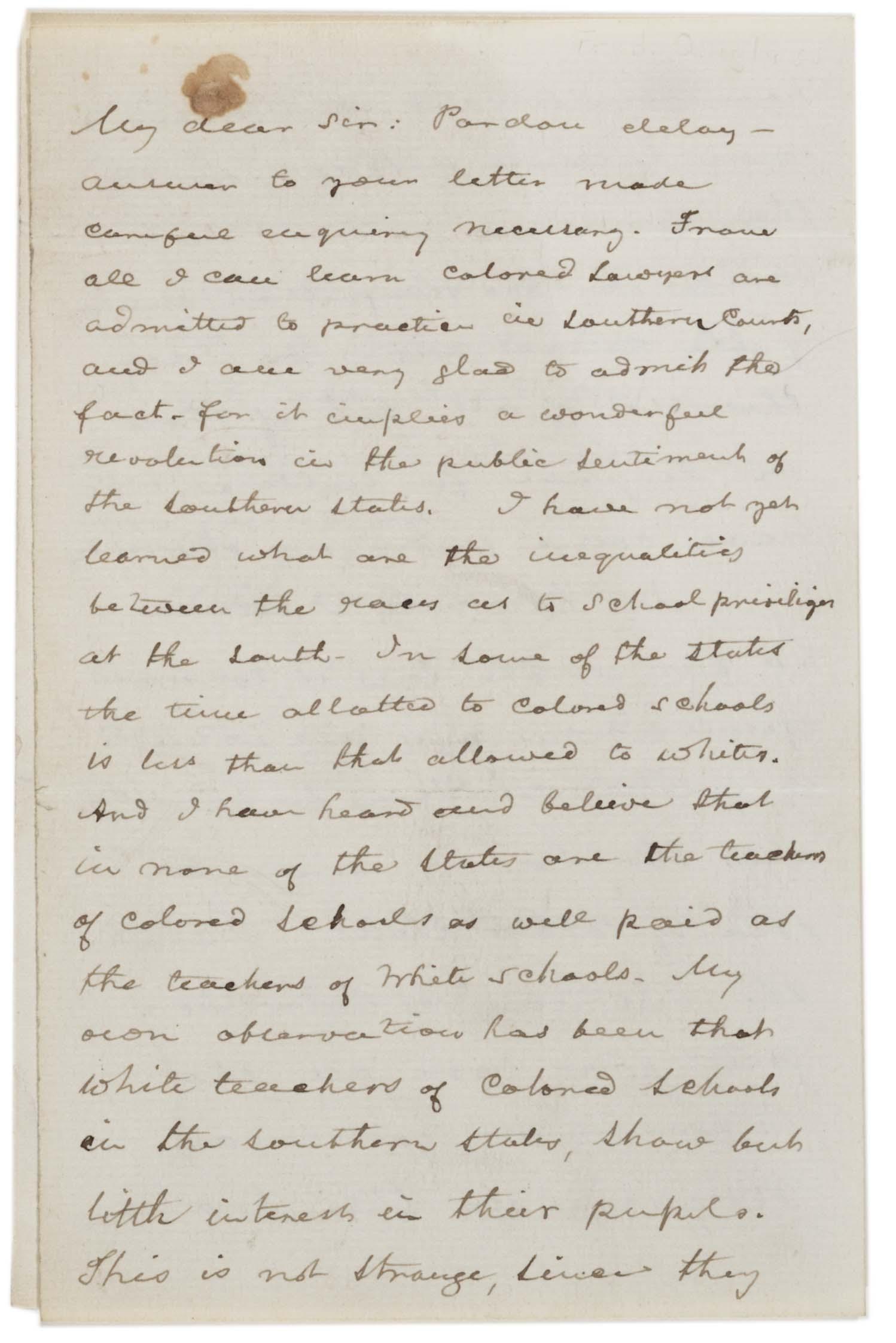 Frederick douglass on jim crow 1887