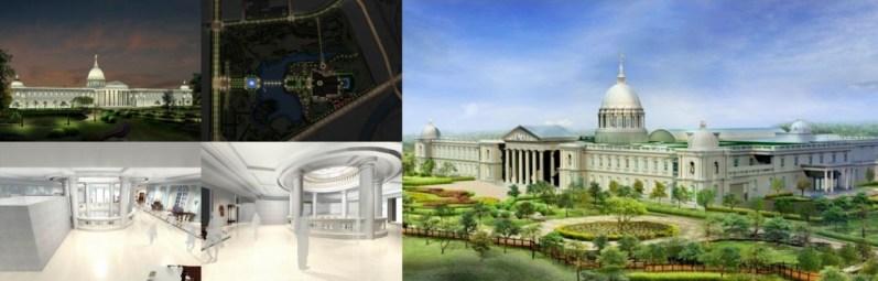 Chi Mei Museum map & plan
