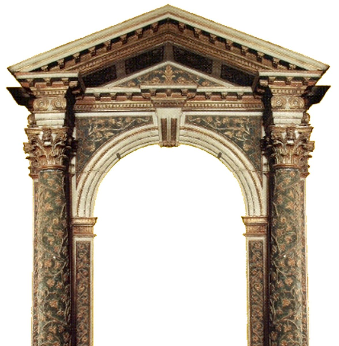 Encadrement baroque italien for Baroque italien