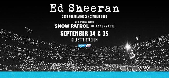 Ed Sheeran - Gillette Stadium