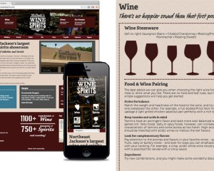 McDade's Wine & Spirits: Website Copy