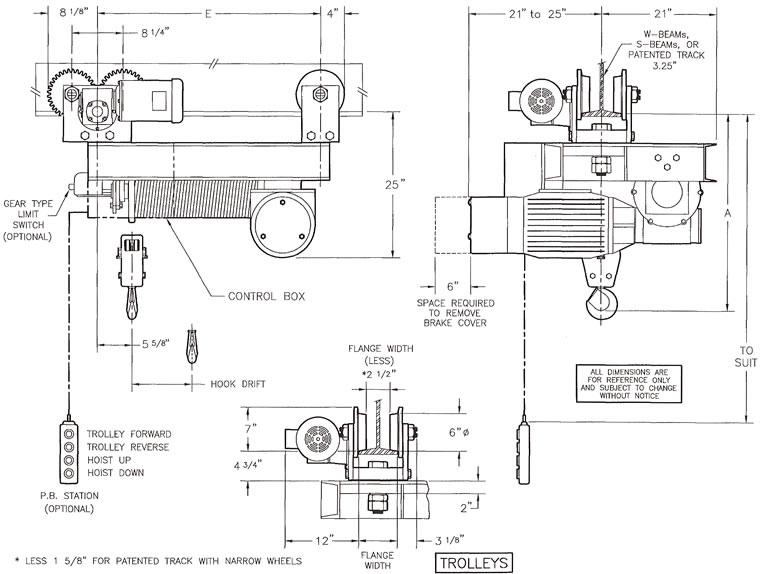Cm Valustar Hoist Wiring Diagram Schematic Diagram Electronic