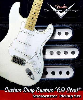 Fender Custom Shop 69 pickups review
